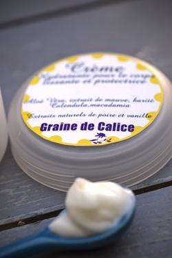 Crème gourmande poire vanillée