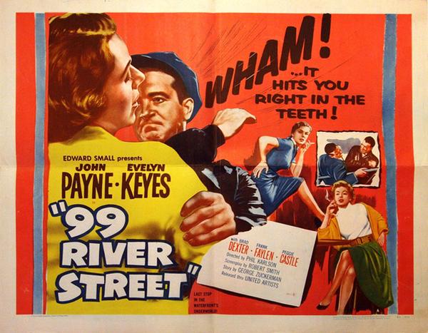 L'affaire de la 99ème rue, 99 river street, Phil Karlson, 1953