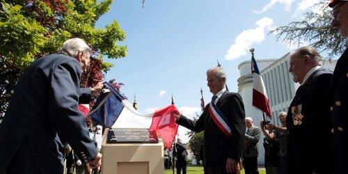 Mimizan (40) : une plaque dédiée au général Georges Bergé