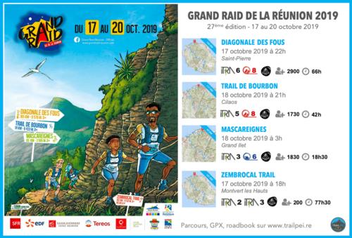 Grand Raid de la Réunion - La Mascareignes - Vendredi 18 octobre  2019