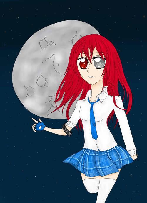 Tsuki et la Lune