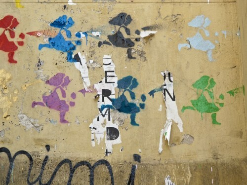 Mimi Cracra street-art Rero