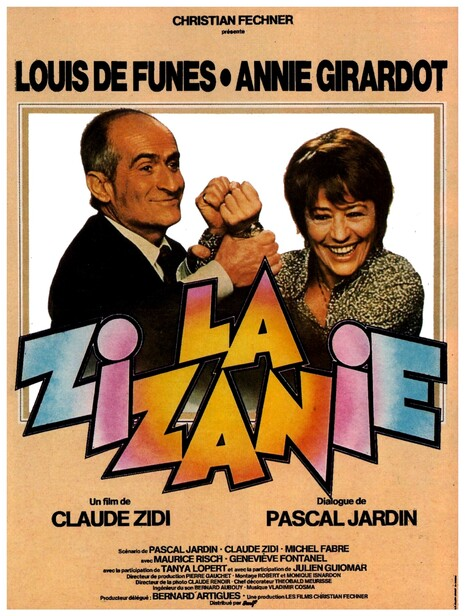 LA ZIZANIE - LOUIS DE FUNES BOX OFFICE 1978