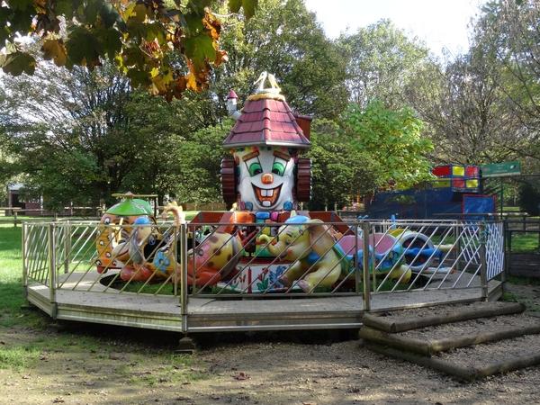 Le parc de l'Auxois, un bien agréable but de promenade...