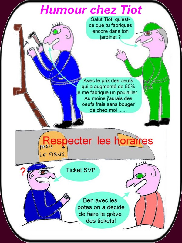 humour du lundi 10 aout -1