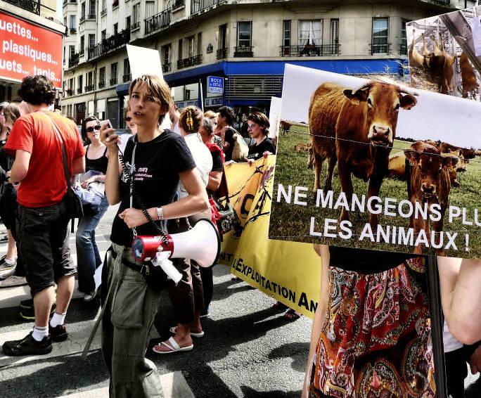 Vegfest - Marche pour la fermeture des abattoirs