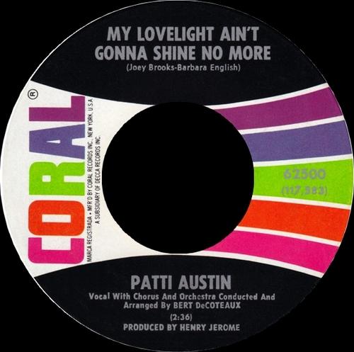 "Patti Austin : CD "" The Singles RCA Victor, Coral & ABC Records 1956-1968 "" SB Records DP 94 [ FR ]"