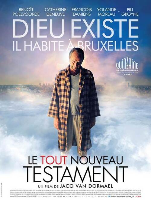 Découvrez un nouveau teaser de Le Tout Nouveau Testament avec Benoît Poelvoorde, Catherine Deneuve, François Damiens et Yolande Moreau. Le 2 septembre 2015 au cinéma !
