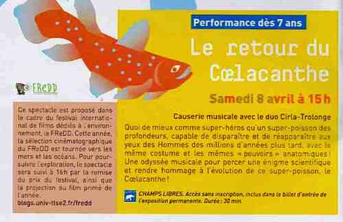 coelacanthe avril 2017