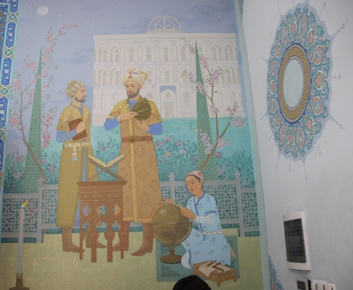 L'observatoire d'Oulough Beg à Samarcande