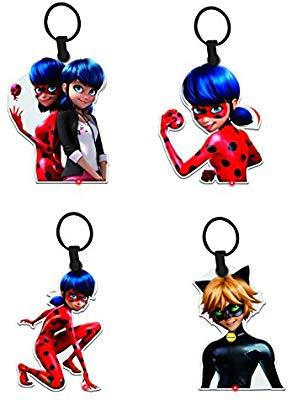 Porte clés - Lot de 4 - Ladybug
