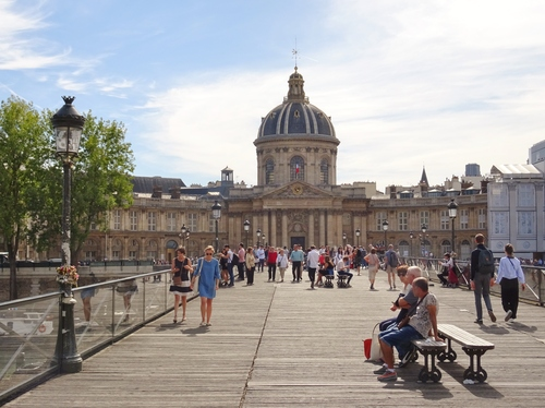 Visite de L'Institut de France à Paris (photos)