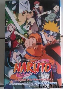 Naruto Animé Comics - La légende de la Pierre de Guelel