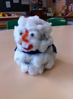 Bonhomme de neige en 3D