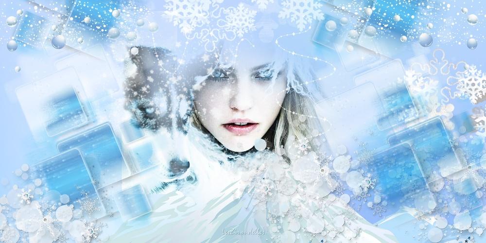 Fonds hiver polaire