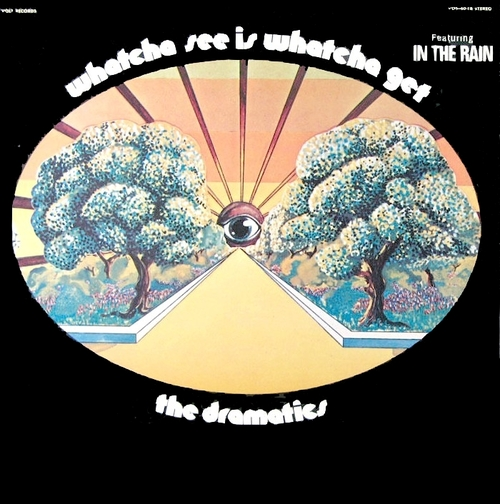 "The Dramatics : Album "" Whatcha See Is Whatcha Get "" Volt Records VOS-6018 [ US ]"