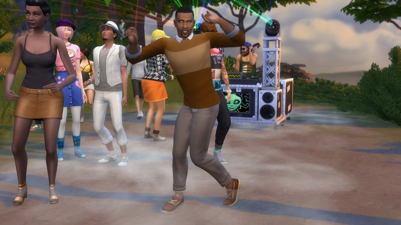 Nos Sims se tapent l'affiche sur le dance floor !