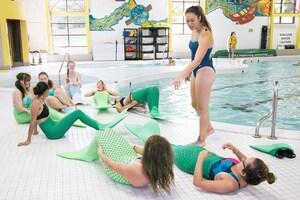 dance ballet class mermaids pool