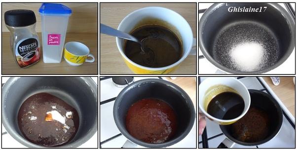 Extrait de café maison