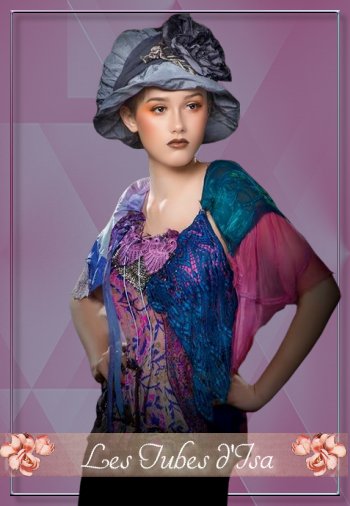FAC0024 - Tube femme chapeau