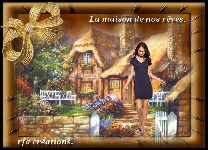 """Défi 12 """"La maison de nos rêves"""""""