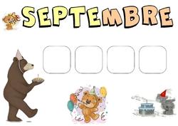 Les anniversaires des petits ours