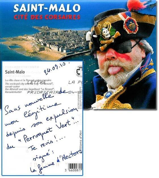 Carte postale de St-Malo
