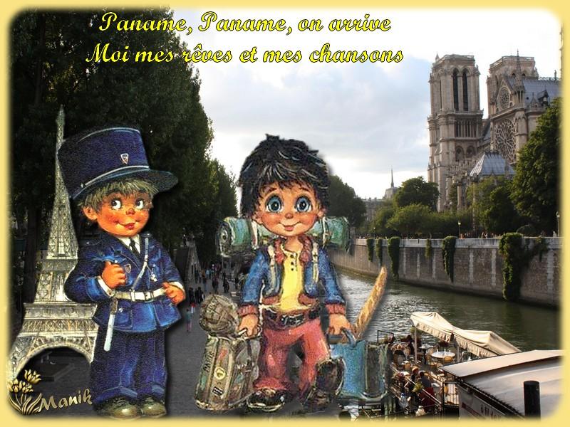 Paname ( Paris) avec Slimane