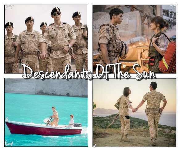 Descendants Of The Sun (drama coréen)