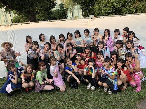 Sur le Twitter du Tokyo Idol Festival - 02.08.19