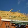 pose des corniches de toit & voliges 001