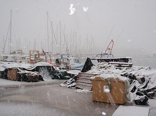 le barcares sous la neige 016
