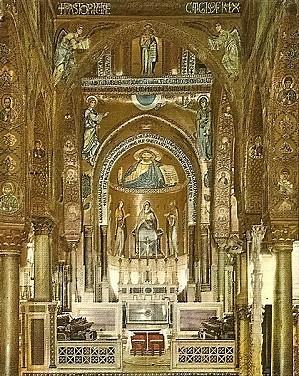 Palerme La Chapelle Palatine 05