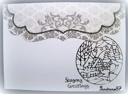 un sketch pour une carte de voeux