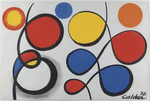 MS/ GRAPHISME / LES BOUCLES / Alexander Calder