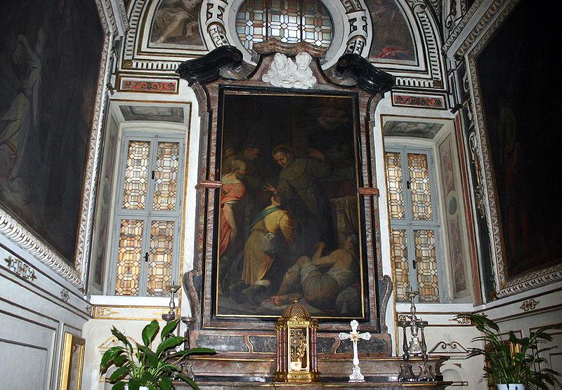 Fichier:9485 - Milano - S. Angelo - C. Procaccini, S. Diego guarisce infermi - Foto Giovanni Dall'Orto 22-Apr-2007.jpg