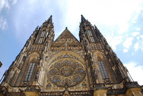 Prague: le château et la cathédrale Saint Guy (photos)