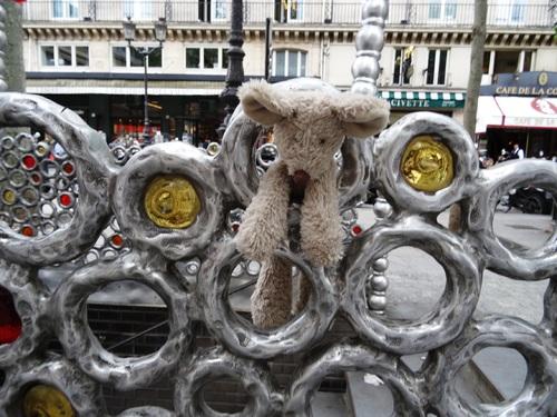 Promenade à Paris avec Minizup'tite