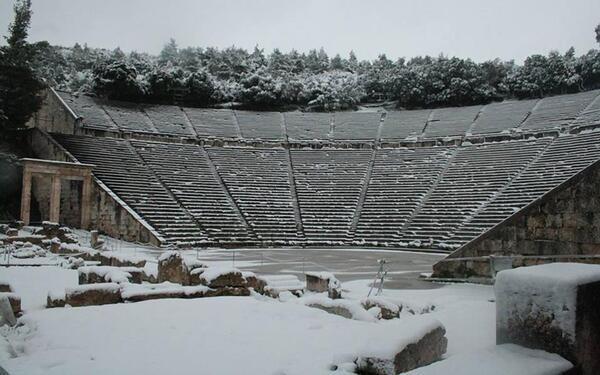 Grèce en blanc