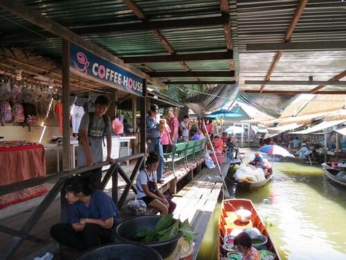 13 Juillet 2013 - Bangkok, les marchés flottants et le temple de Wat Arun... trop beaux !