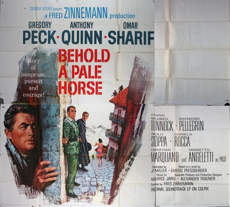 BEHOLD A PALE HORSE BOX OFFICE 1964