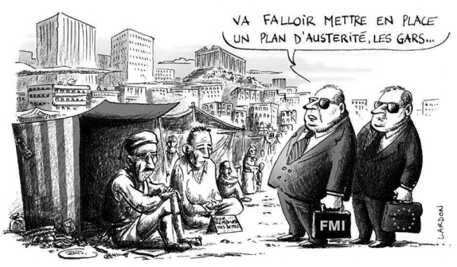 Les PROFITS ODIEUX de la BCE sur le dos du peuple GREC