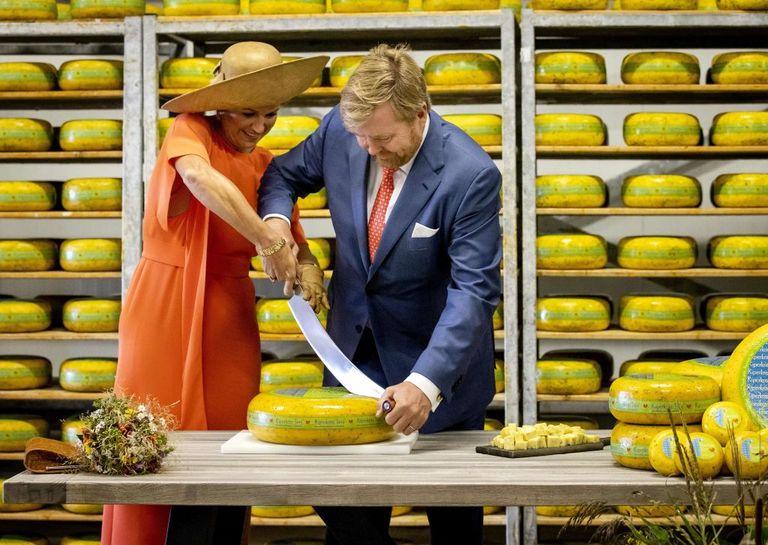 Willem et Maxima à Friesland