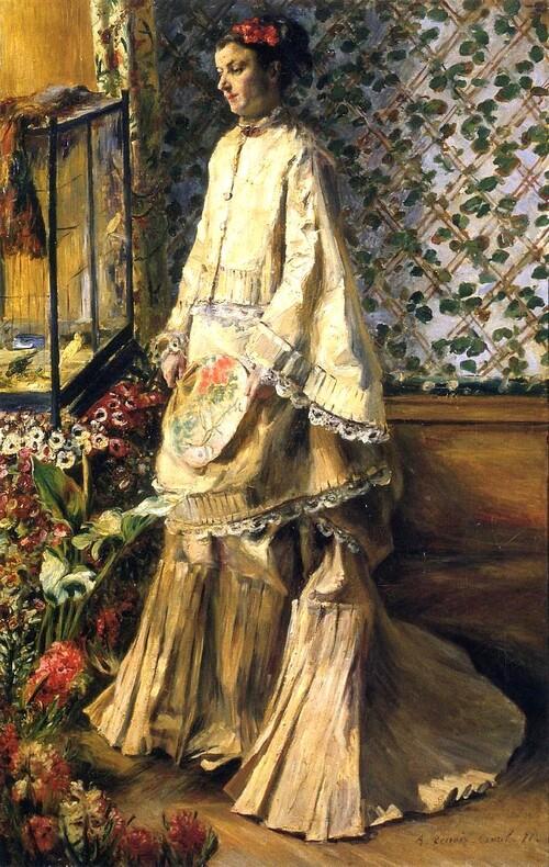 Renoir /6/  1871: Edmond Maistre , l'ami  et collectionneur