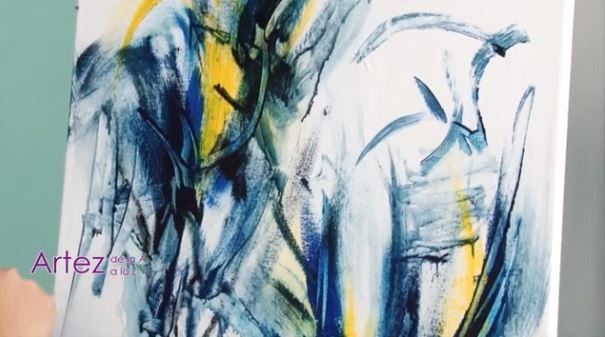 Dessin et peinture vid o 1739 une le on int ressante - Peindre a l acrylique ...