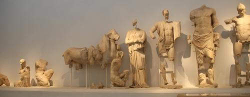 Au musée d'Olympie