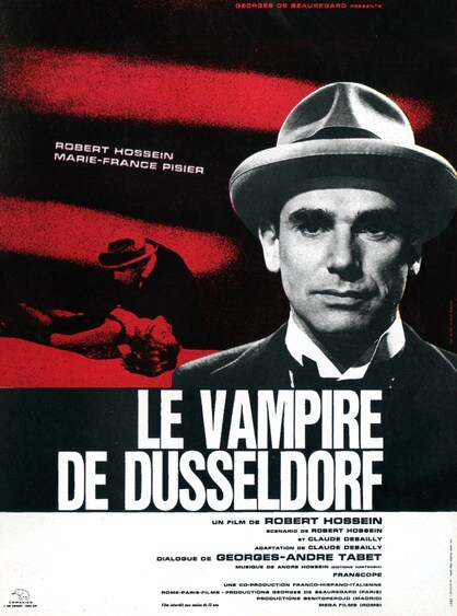 LE VAMPIRE DE DUSSELDORF BOX OFFICE FRANCE 1965