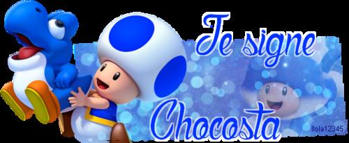 Pour le concours de Chocosta