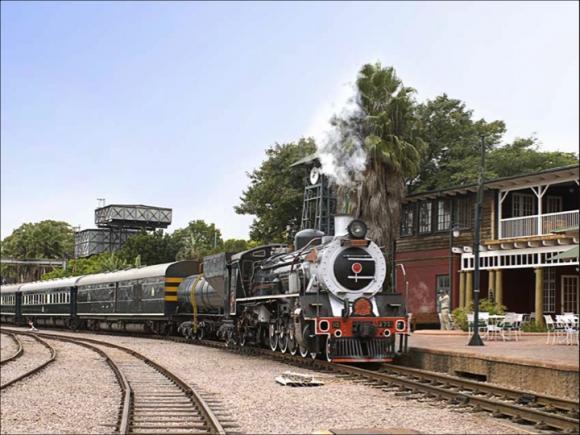 Letrans Africa Express ROVOS Rail