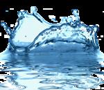 Tubes goutte d'eau et vague